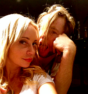 Greg Cipes and Tara Strong being silly