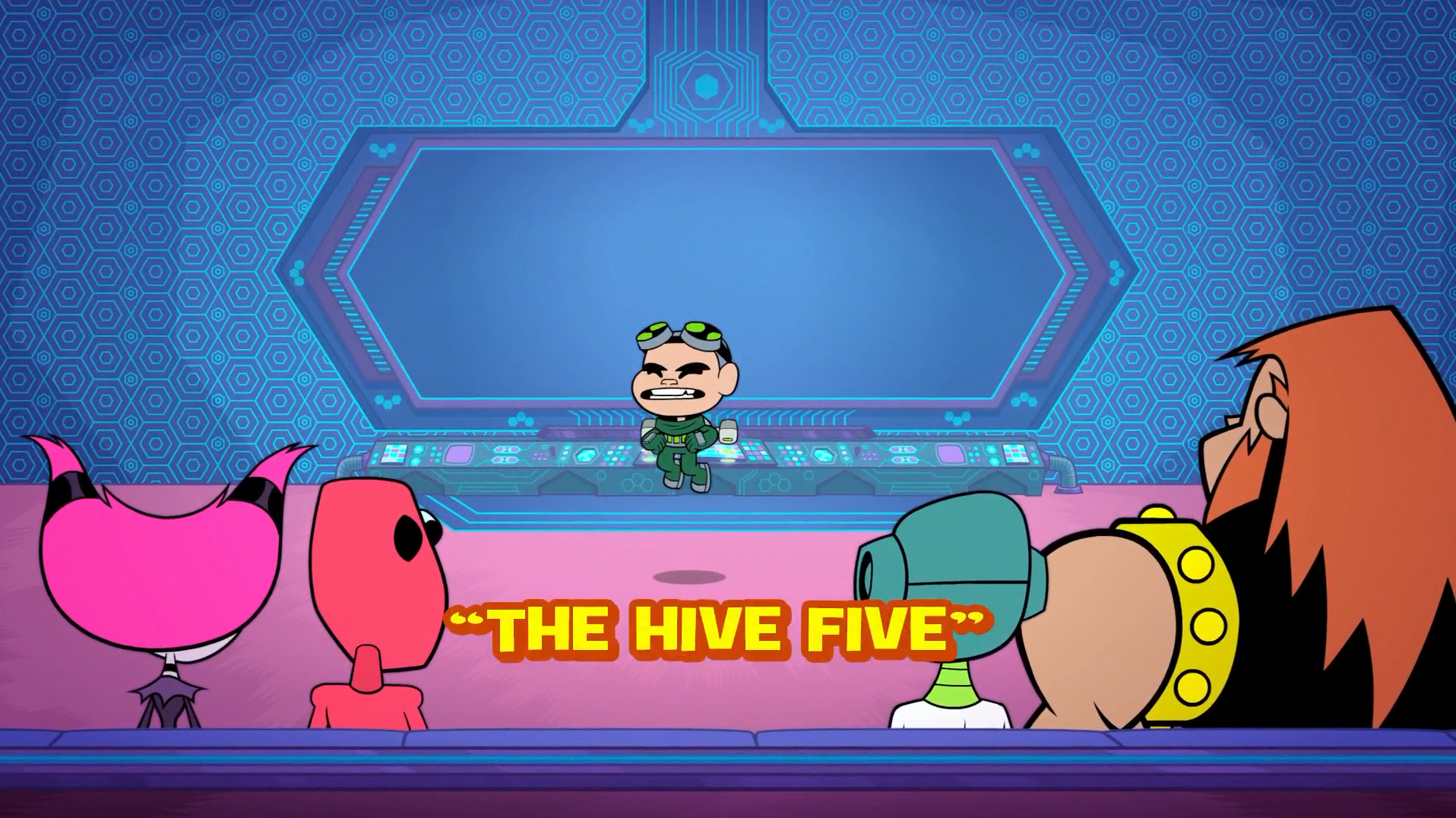 The HIVE Five episode Teen
