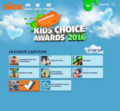 KCA 2016 Nominations