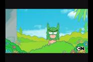 Batman leaves