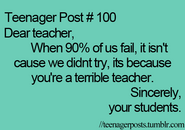 Teenager Post 100