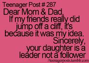 Teenager Post 287