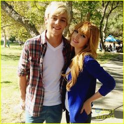 Ross Lynch and Bella Thorn Danimals (2)