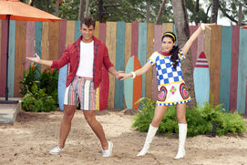 Tanner and Lela Teen Beach 2 Promotional Picture