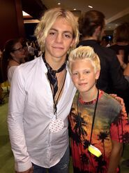 Ross Lynch and Carson Lueders