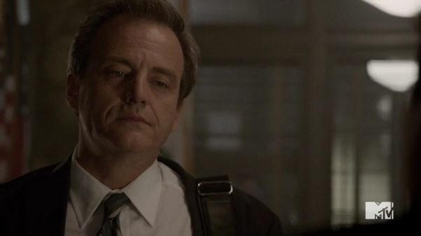 Mr. Stewart at Sheriff Station Salvator Xuereb Episode 3 Season 5 Teen Wolf Dreamcatchers