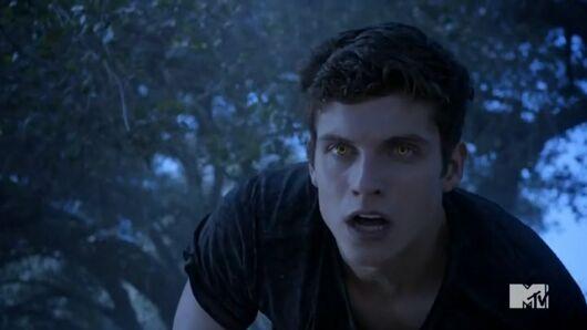 Teen Wolf Season 3 Episode 14 More Bad Than Good Daniel Sharman Isaac eyes glow