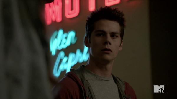 Teen Wolf Season 3 Episode 6 Motel California Dylan O'Brien Stiles confronts Lydia