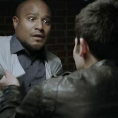 Derek attacks Dr. Deaton