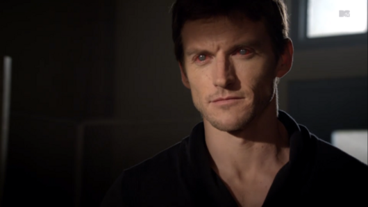 Teen Wolf Season 3 Episode 1 Tattoo Gideon Emery Alpha Deucalion