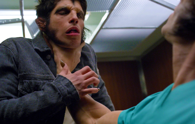 Teen Wolf Season 3 Episode 1 Tattoo Scott Fights Alpha Ennis