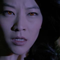 Kira's Eyes Glow