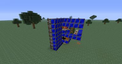 Horizontal frame quarry