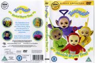 Teletubbies Musical Rhyme time DVD cover