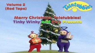 Merry Christmas, Teletubbies! - Volume 2 - Tinky Winky and Po's Presents (1999 US VHS)