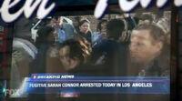 Sarah arrested news