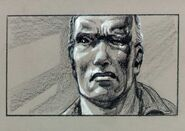 T-1 storyboard of his eye