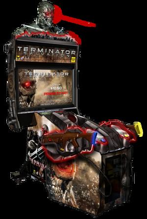 Terminator Salvation Arcade Game Terminator Wiki