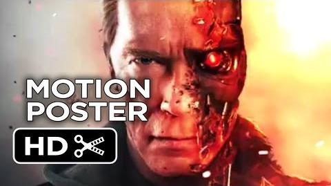 Terminator Genisys Motion Poster (2014) - Arnold Schwarzenegger Action Movie HD
