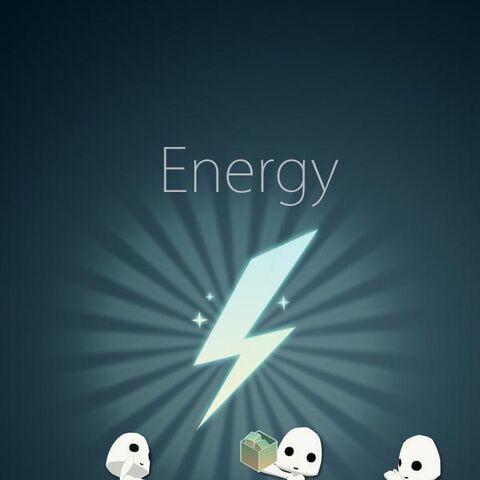 Mmm, energy...