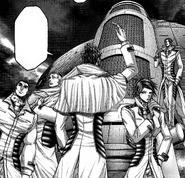 Liu with his group