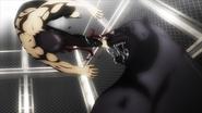 Chaomy shaking off Akari