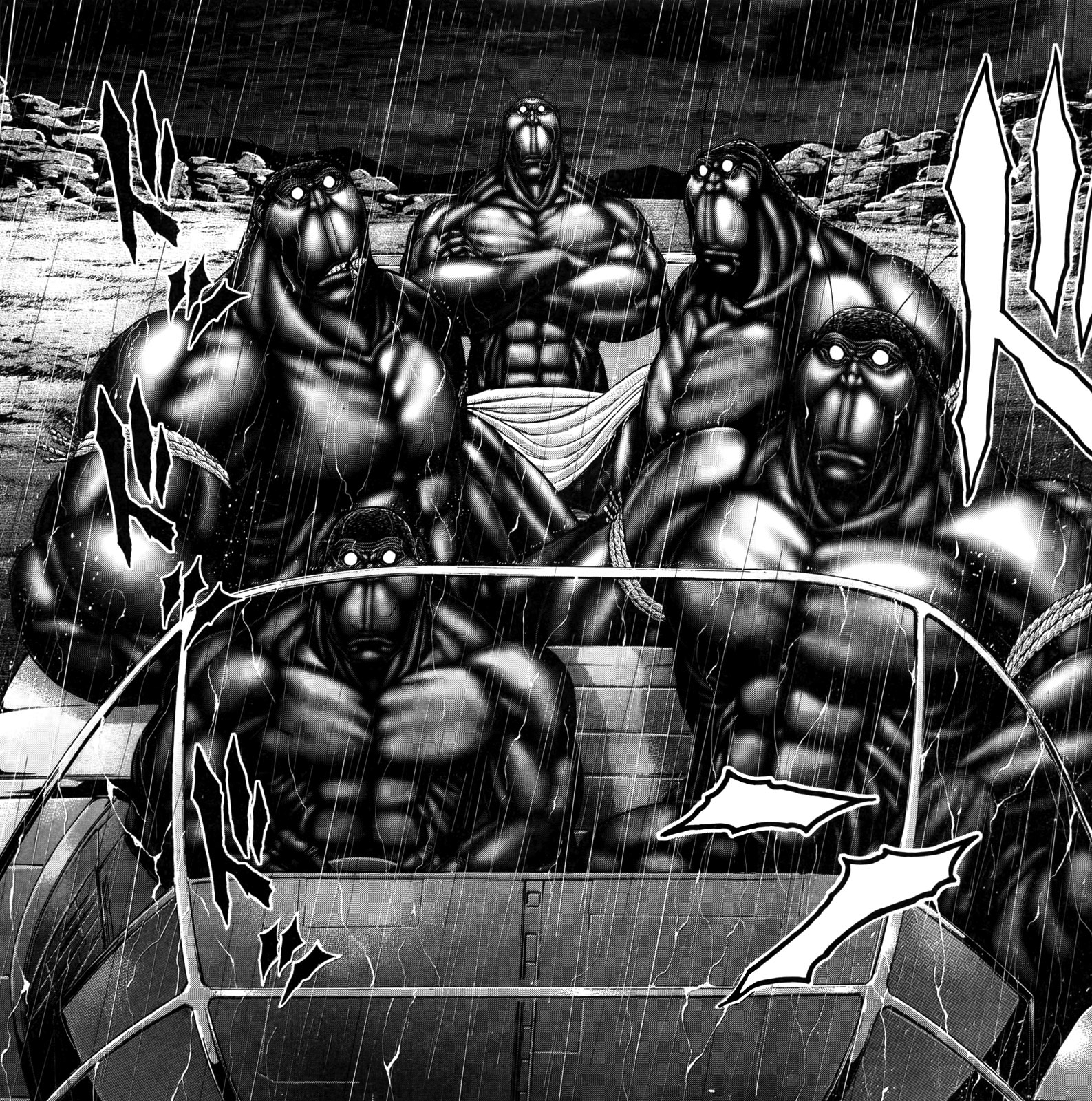Terraformars Vs Trion Warriors