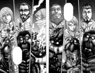 The officers taking out Terraformars