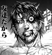 Akari transforming from anger
