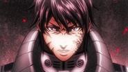 Akari activating his transformation