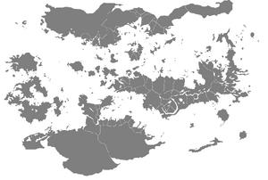 Venus mapa político