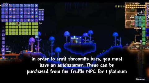Terraria Wiki How to Craft Shroomite Armor TerrariaGuide-1