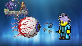 Terraria How to defeat the Eye of Cthulhu