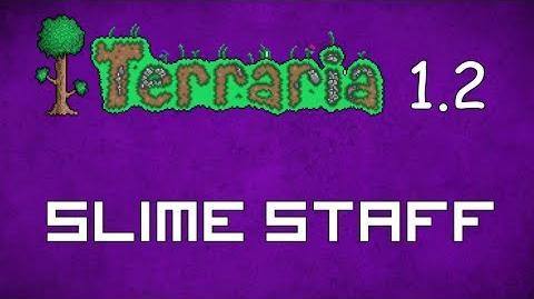 Slime Staff - Terraria 1