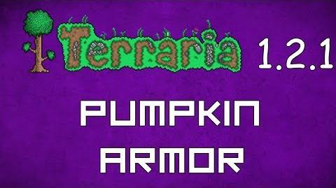 Pumpkin Armor - Terraria 1.2