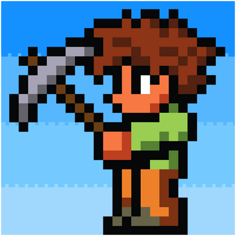 File:Terraria pickaxe dude.png