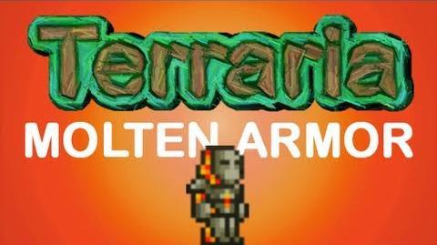 Terraria - Molten Armor