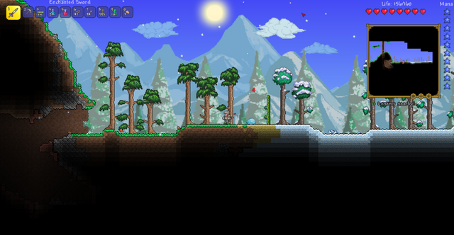 File:Tiny desert between the purity and snow biome in a small world.png