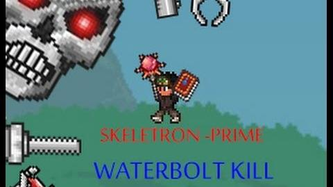 Skeletron Prime kill with Waterbolt