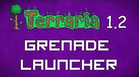 Grenade Launcher - Terraria 1