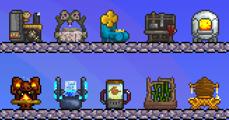 Craft Stations Terraria