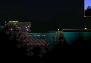 Meteorite Piranhas