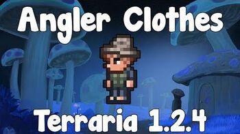 Angler Clothes - Terraria 1.2
