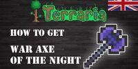 War Axe of the Night
