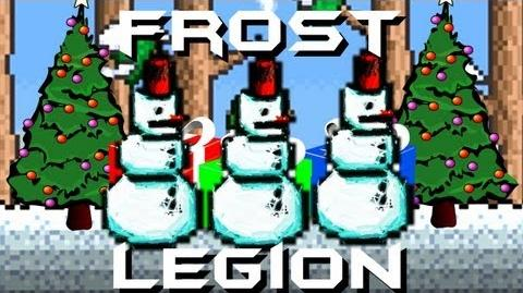 Terraria - Frost Legion Boss Battle Snow Globe Snowman Gangsta Terraria HERO
