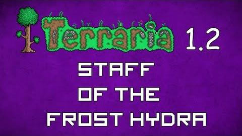 Staff of the Frost Hydra - Terraria 1