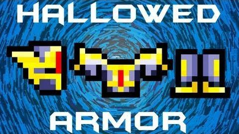 Terraria - Hallowed Armor Set Terraria HERO