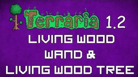 Living Wood Wand - Terraria 1