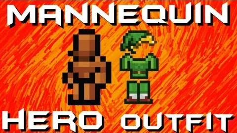 Mannequin HERO's Outfit Terraria HERO