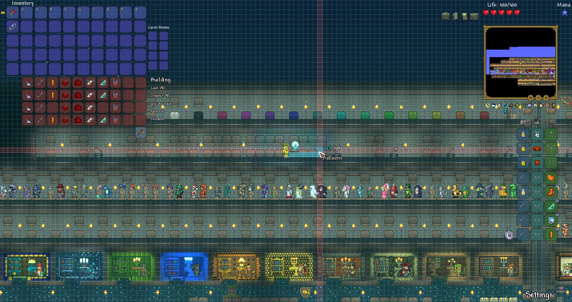 how to turn grid on terraria
